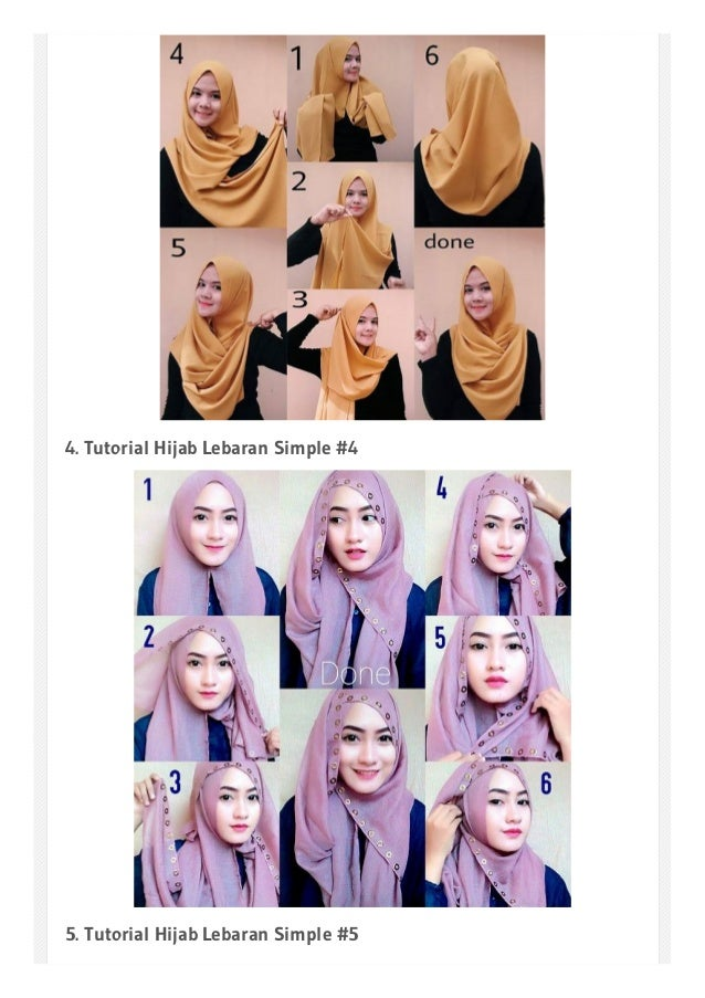 Model Hijab Hari Raya Contoh Soal Dan Materi Pelajaran 5