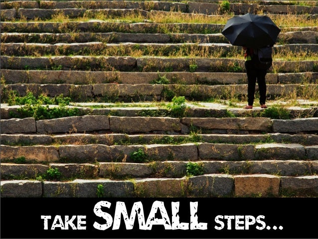 take smallsteps...