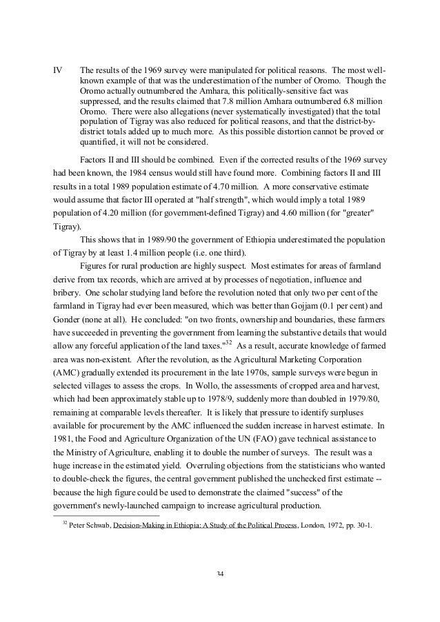 Tigray's Conservation-Based Agricultural Development-Led ...