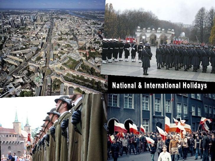 National & International Holidays