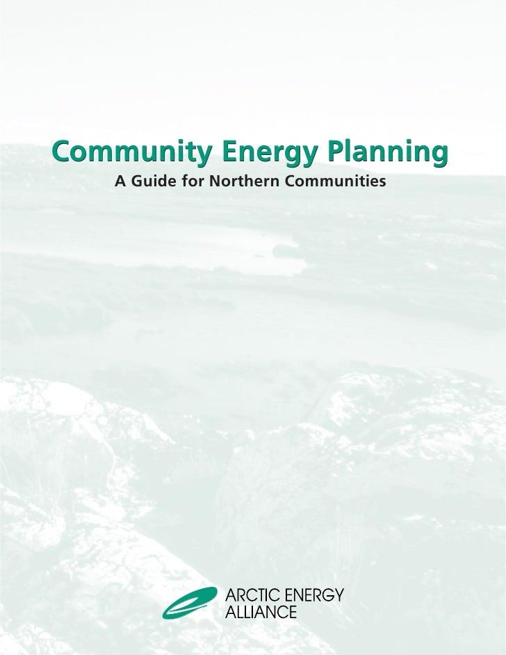 Community Energy Planning   A Guide for Northern Communities