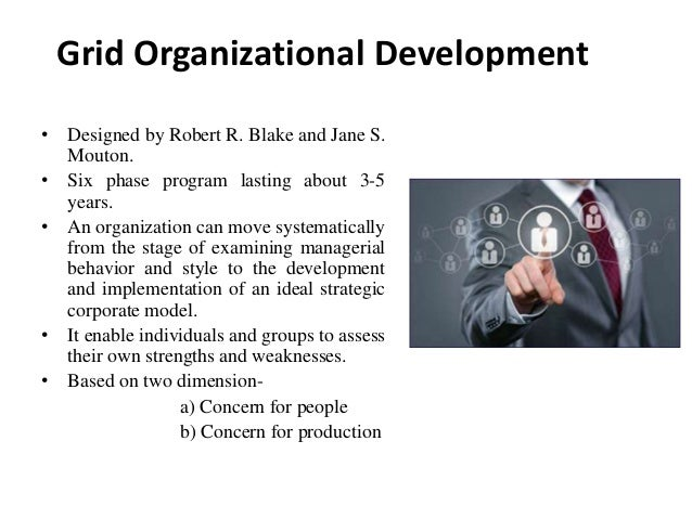 grid organization development process