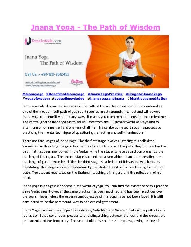 Jnana Yoga The Path Of Wisdom