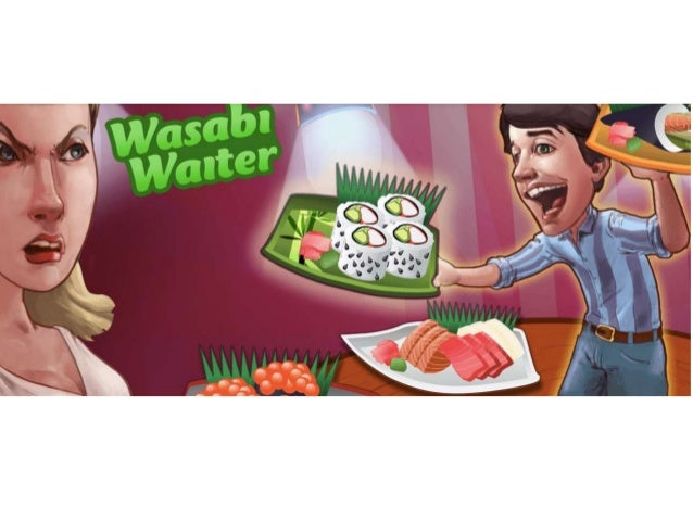 Knack • Its Wasabi Waiter game, for example, casts the player as a server at a sushi restaurant who must figure out which ...