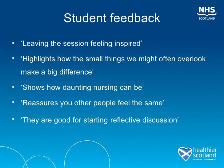 how to show confidence in person centred care in nursing