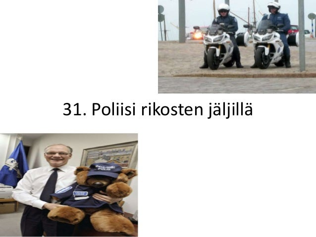 31. Poliisi rikosten jäljillä