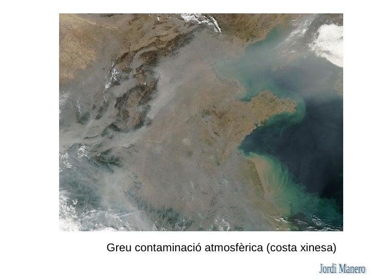 Greu contaminació atmosfèrica (costa xinesa)
