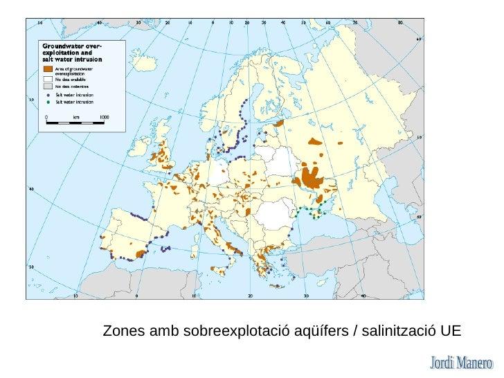 L'Aigua a Catalunya A Catalunya hi ha un gran desequilibri entre la distribució de la població en el territori i la dispon...