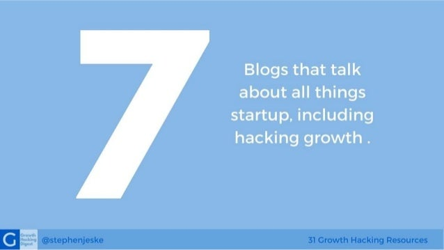 31 Best Growth Hacking Resources