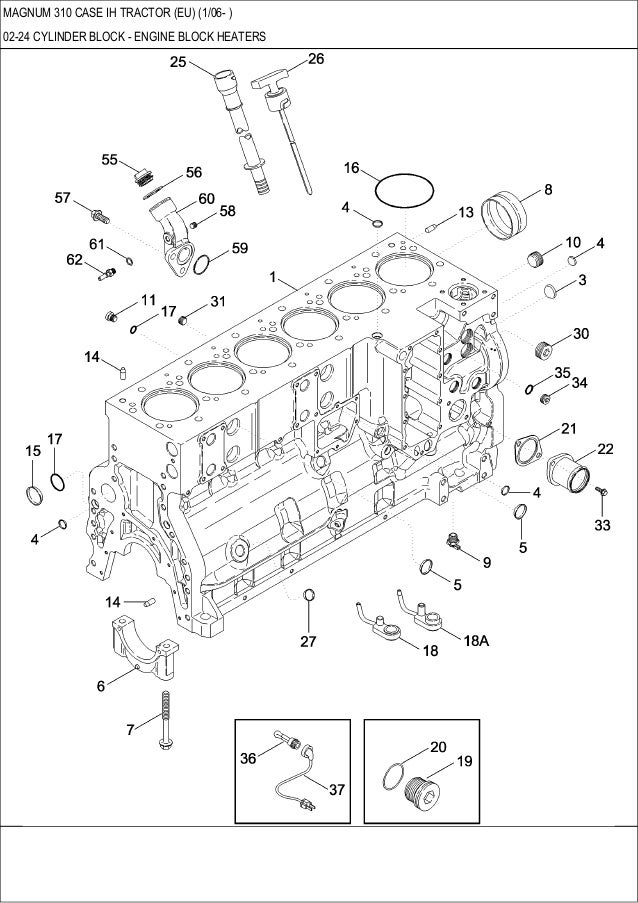 Magnum 310 Case Ih Tractor Parts Catalog