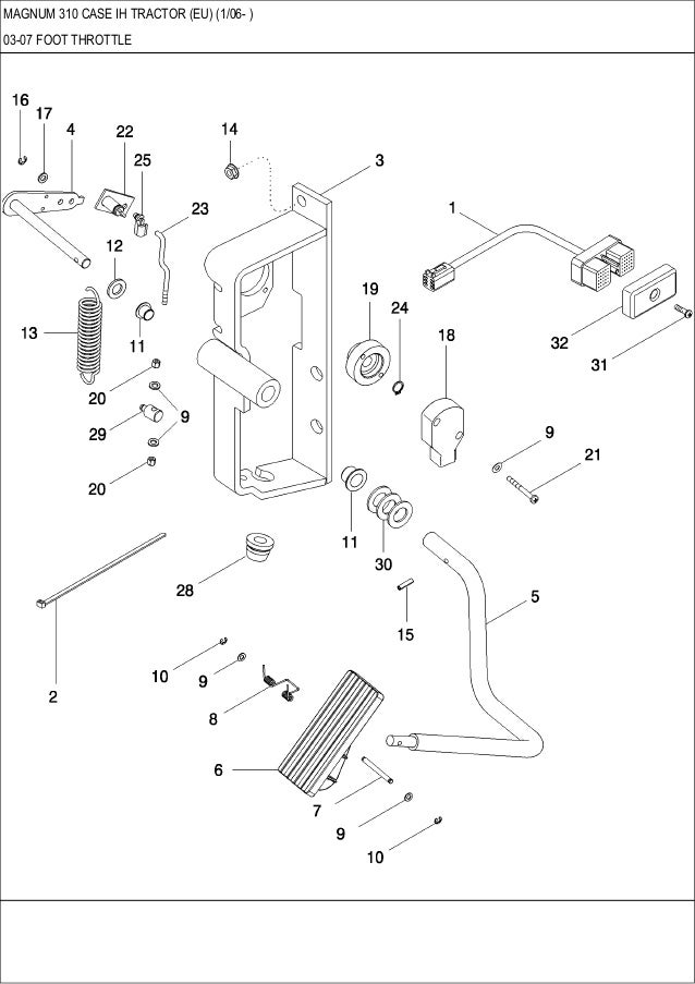 Magnum Tractor Transmission Diagram - Wiring Diagram Value on