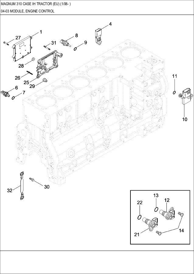 magnum 310 case ih tractor parts catalog