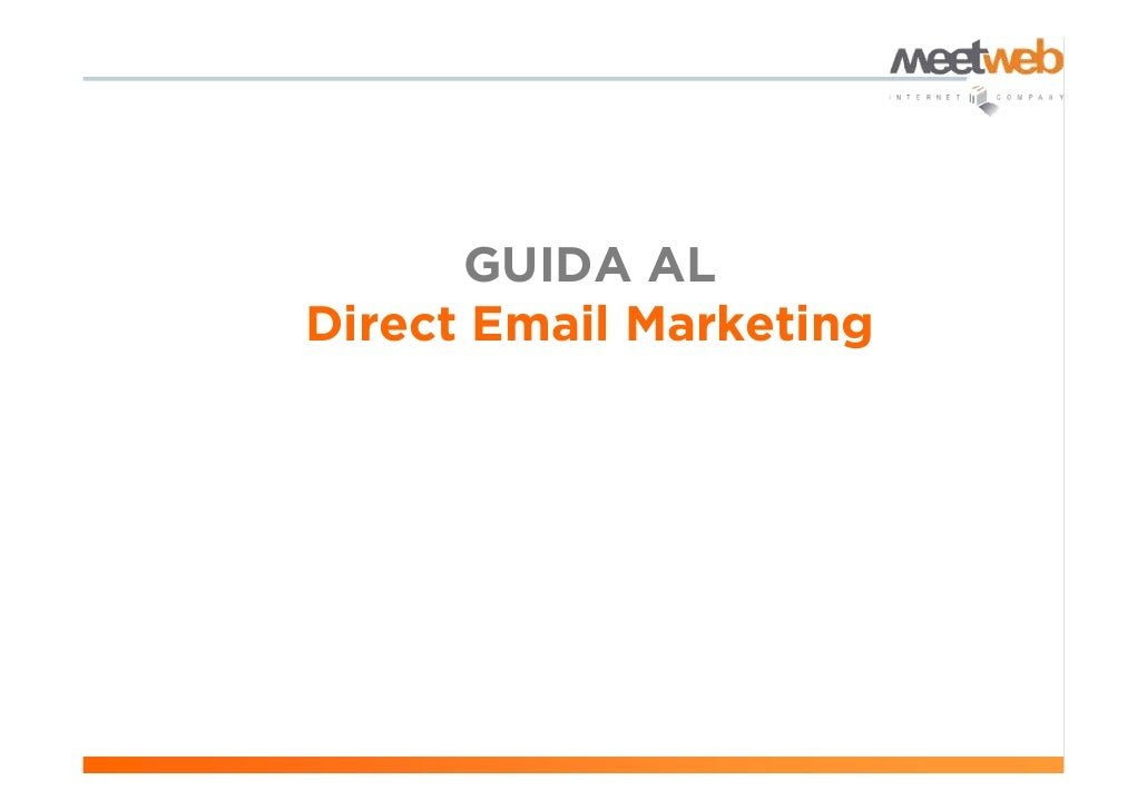 GUIDA AL Direct Email Marketing