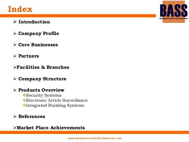 5fe5f2ed0c90 BASS Company profile