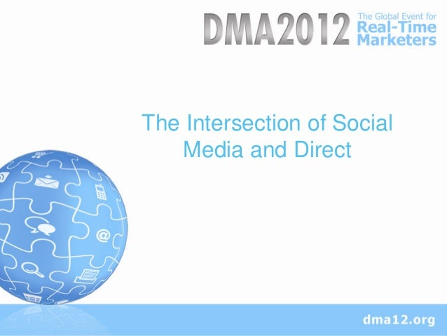 The Intersection of Social   Media and Direct