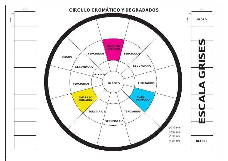 25 mm   40 mm                     CIRCULO CROMÁTICO Y DEGRADADOS                                                      40 m...