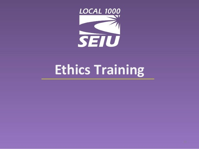 Ethics and course