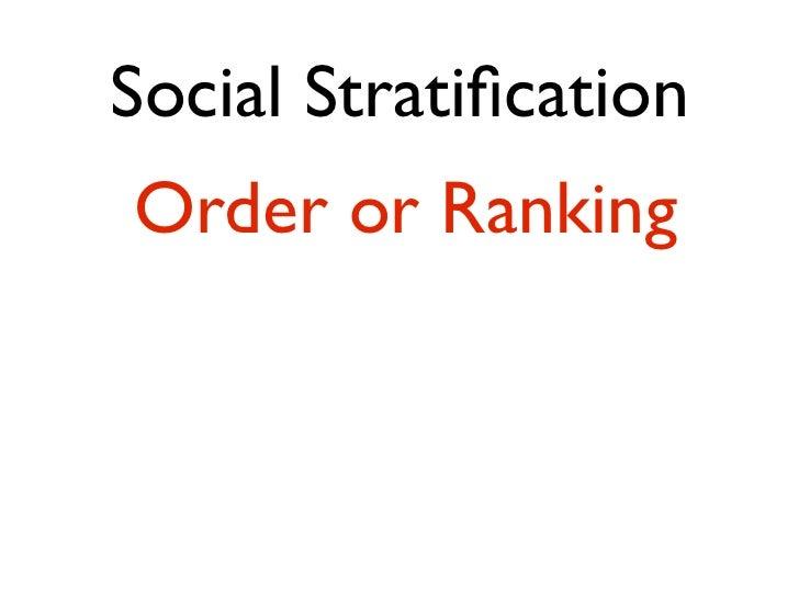 Social MobilityMove between ranks