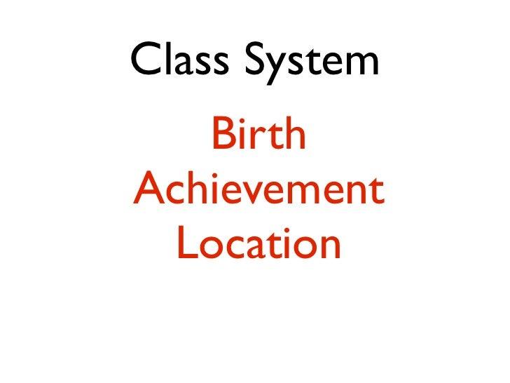 Class Conscious I am my class