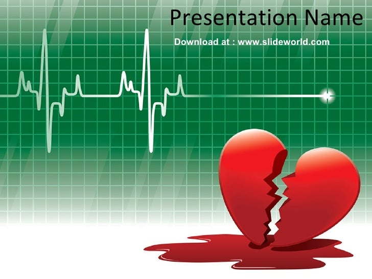 cardiac ppt template - heart powerpoint ppt templates