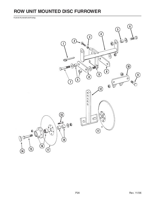 Kinze 3110 Parts Catalog