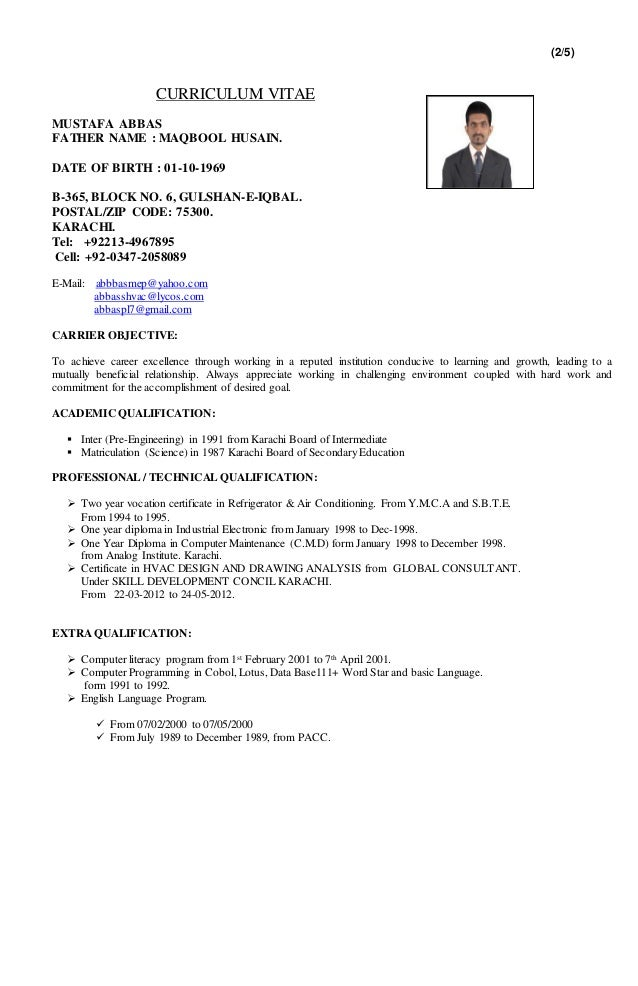 Hvac Resume Examples | Resume Examples And Free Resume Builder