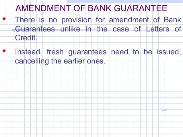 31132115 bank guarantee 21 amendment of bank guarantee spiritdancerdesigns Images