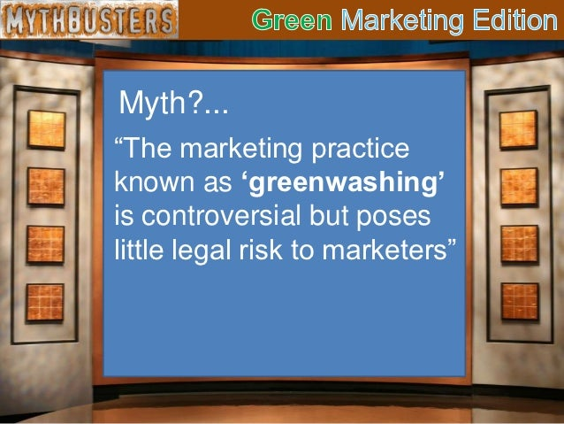 concern about green marketing legend or Pdf   the authors evaluate the potential of green marketing and its limitations in  solving society's  reflect a concern for various stakeholders, a central facet of  the multiple-  green marketing: legend, myth, farce or proph.