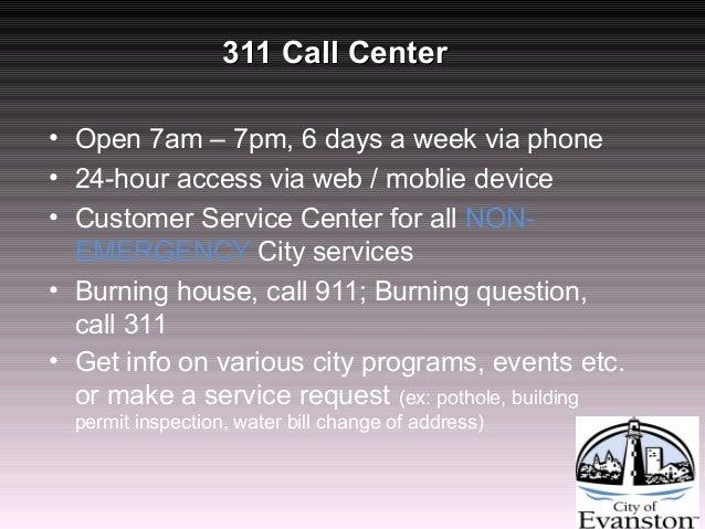 City Of Evanston Phone Number Wather Bill