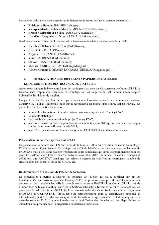 CountrySTAT Communication Strategy Lusaka, 12-16 November 2012 Slide 3