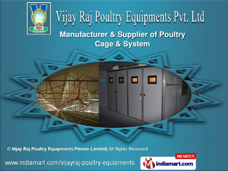 Manufacturer & Supplier of Poultry        Cage & System