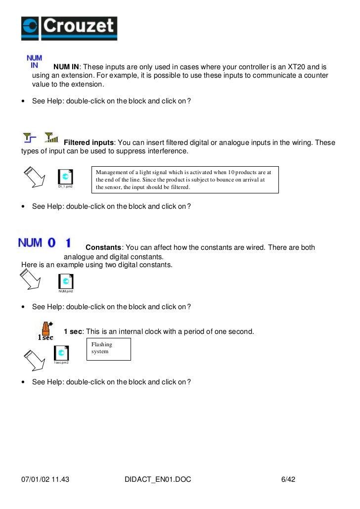 Crouzet Xt20 Manual