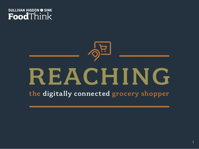 shsfoodthink.com ©2015 Sullivan Higdon & Sink. All rights reserved. The data in this report may be reproduced as long as i...