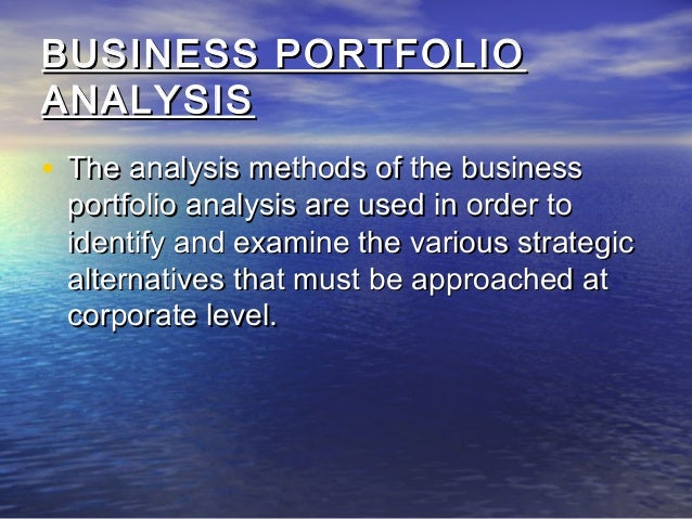 hofer s matrix Business policy & strategic management (vv2)  hofer's matrix is a fifteen cell matrix in which businesses are plotted in terms of their competitive position .