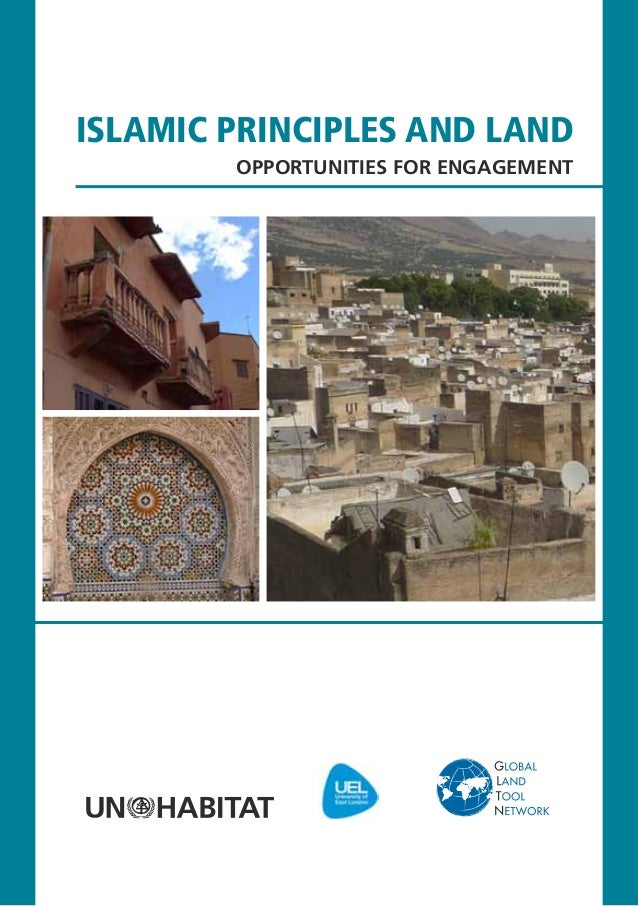 islamic principles and land        Opportunities for Engagement