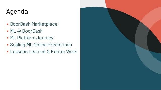 Scaling Online ML Predictions At DoorDash Slide 2
