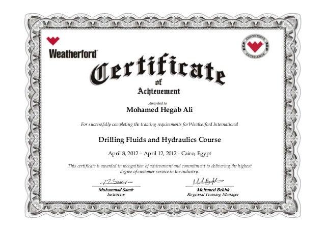 Drilling Fluids and Hydraulics Course