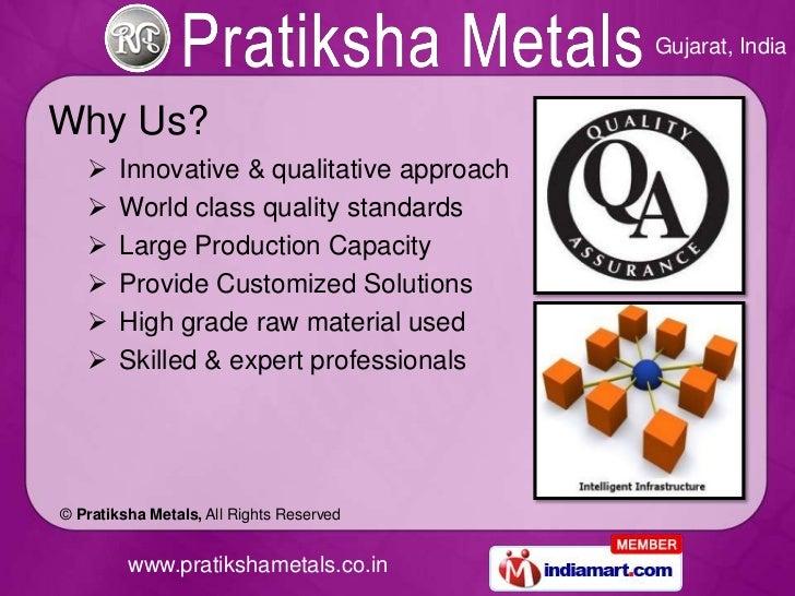 Industrial Products by Pratiksha Metals Vadodara Slide 3