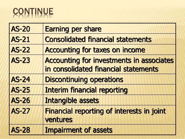 accounting standards 11 Ias 11 provides requirements on the allocation of contract revenue and contract costs to accounting periods in which construction work is performed contract revenues and expenses are recognised by reference to the stage of.