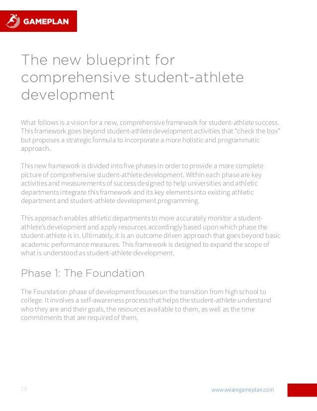 Powering the journey new blueprint for student athlete development 13 malvernweather Gallery