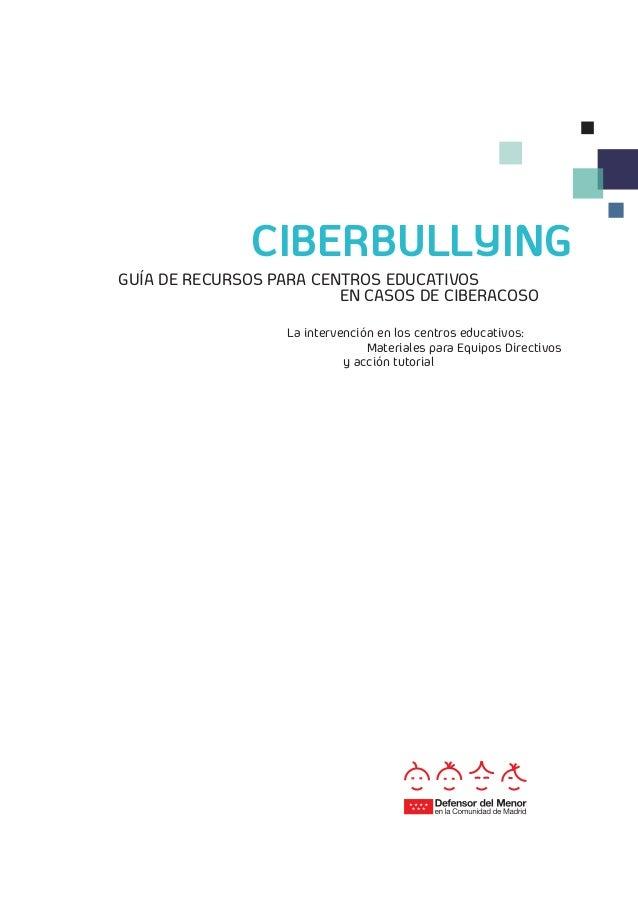 Ciberbullying gu a de recursos para centros educativos en - Casos de ciberacoso en espana ...