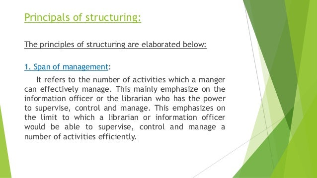 organizational structure final copy Organizational structure name here nur/492 october 27, 2014 instuctor organizational structure an organizational structure outlines the distribution of.