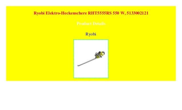 Ryobi Elektro-Heckenschere RHT5555RS 550 W 5133002121