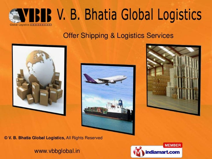 Offer Shipping & Logistics Services<br />