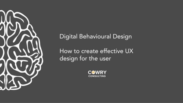 Mobile UX London 2018 Lightning Talk - Raphaelle March, Behavioural Design Manager, Cowry Consulting