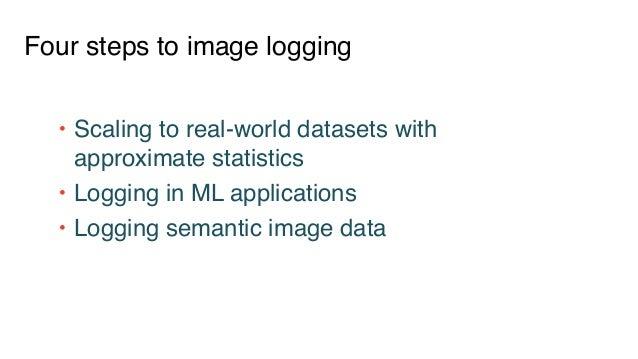 Semantic Image Logging Using Approximate Statistics & MLflow Slide 2