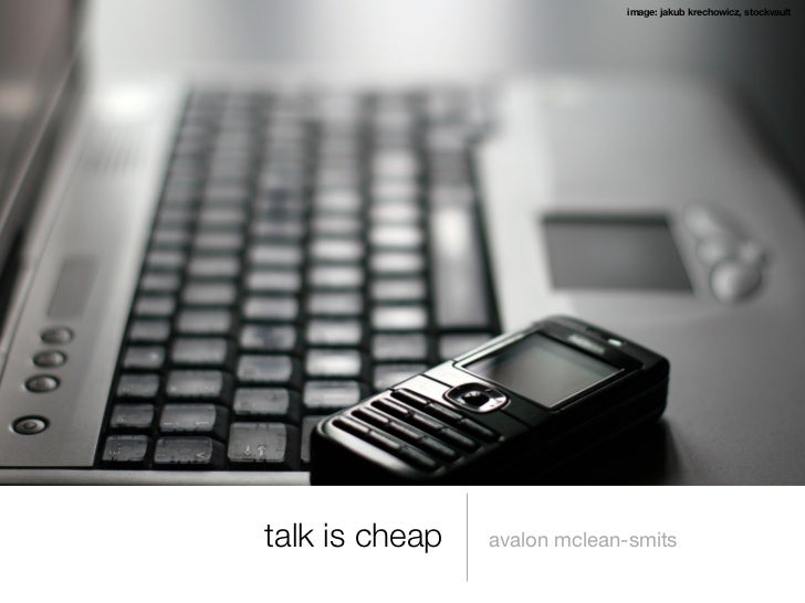 image: jakub krechowicz, stockvaulttalk is cheap   avalon mclean-smits