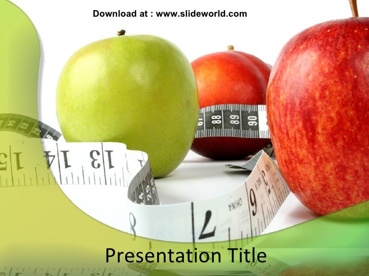 Healthy diet powerpointppt templates healthy diet powerpointppt templates presentation title download at slideworld toneelgroepblik Gallery