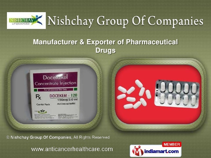 Manufacturer & Exporter of Pharmaceutical                 Drugs