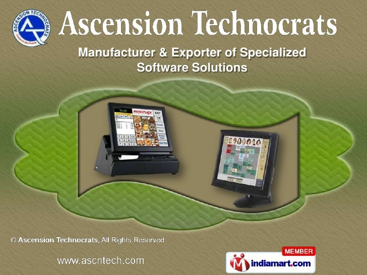 Manufacturer & Exporter of Specialized         Software Solutions